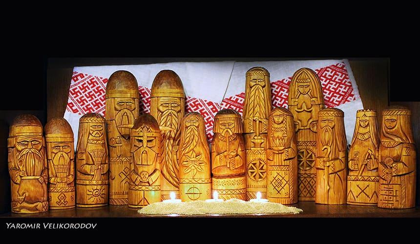 Кумиры Славянских Богов